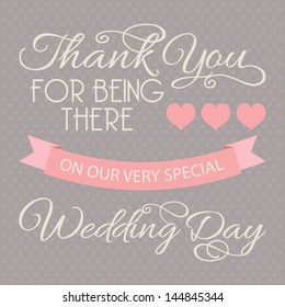 Wedding Thank You Card Images Stock Photos Vectors Shutterstock