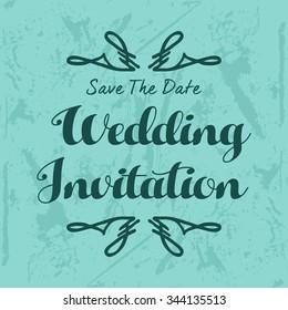 Wedding Vector Template