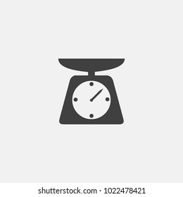 weight icon vector. scale icon vector
