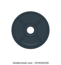 Weight Plates - Vector Flat Design Illustration : Suitable for Gym Theme, Athletic Theme, Sport Theme and Other Graphic Related Assets.