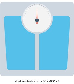 Weight Scale Vector Icon