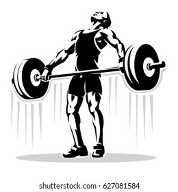 weightlifting images stock photos vectors shutterstock
