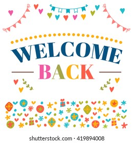 Free Printable Welcome Home Template from image.shutterstock.com