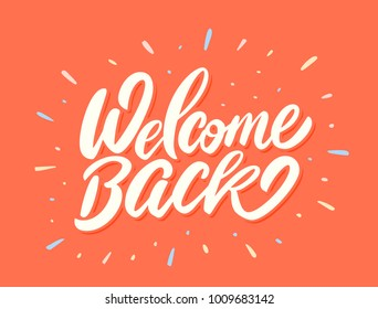 Welcome back. Vector lettering.