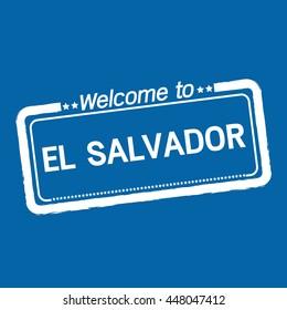 Welcome to EL SALVADOR illustration design