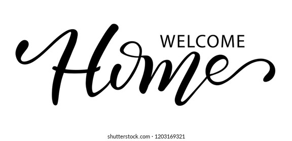 Welcome Home Images Stock Photos Vectors Shutterstock