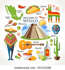 welcome to mexico set