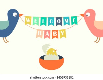 Welcome Baby Banner Images Stock Photos Vectors Shutterstock
