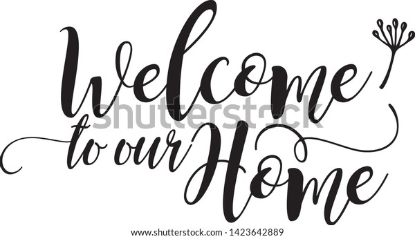 Welcome Home Template from image.shutterstock.com