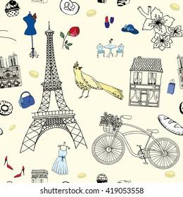 Welcome Paris pattern