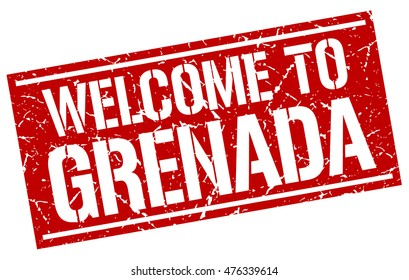 welcome to. Grenada. stamp