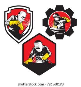 Welder Logo Compilations, Set off welder logo