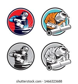 Welder Logo, Weld Logo, Welding Vector