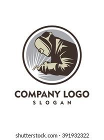 Welder Logo Images Stock Photos Vectors Shutterstock