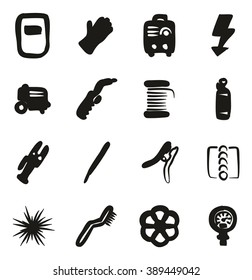 Welding Icons Freehand Fill