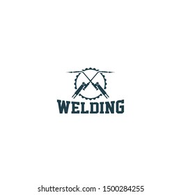 Welding logo design - welding industrial