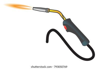 Welding Torch Icon