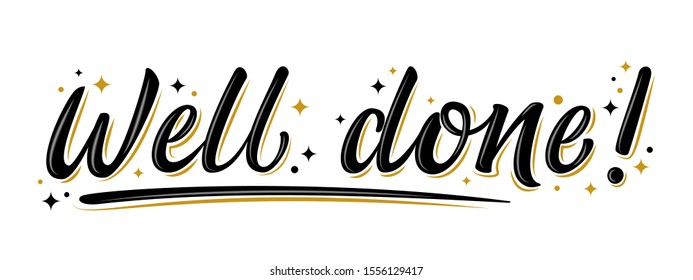 Well Done Star Images, Stock Photos & Vectors | Shutterstock
