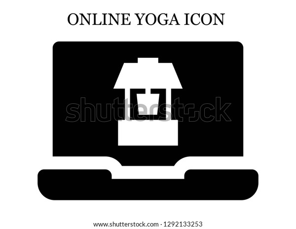 Well Search Icon Editable Well Search Signs Symbols Stock Image