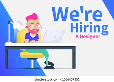 We're hiring a designer ad