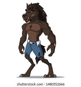 werewolf - folklore character design