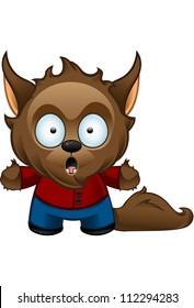 Werewolf Monster - Shocked