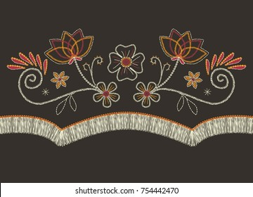 western flowers vector