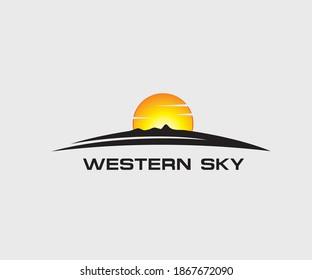 Western Sky Logo Company Design
