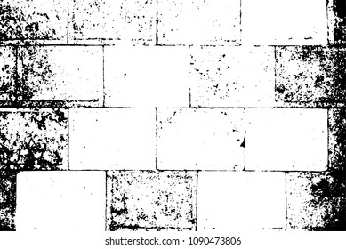 Western Wall, Jerusalem. The Wailing Wall. Black and white vector illustration