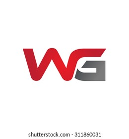 WG company group linked letter logo