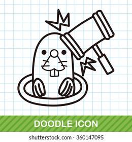 Whack-a-Mole doodle