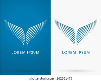 Whale tale, Fish, Wing, Abstract , logo, symbol, icon, graphic, vector.