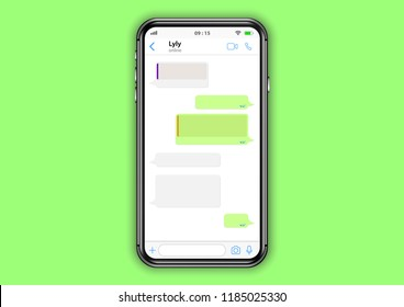 whatsapp mobile application interface