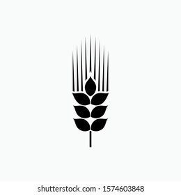 Wheat Agriculture Icon - Vector, Sign and Symbol for Design, Presentation, Website or Apps Elements.