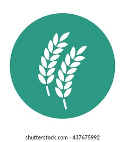 Wheat Ear Vector Icon