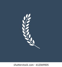 wheat icon, vector best flat icon, EPS
