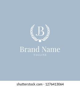 Wheat JB logo elegance skyblue