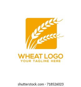 Wheat Logo Design