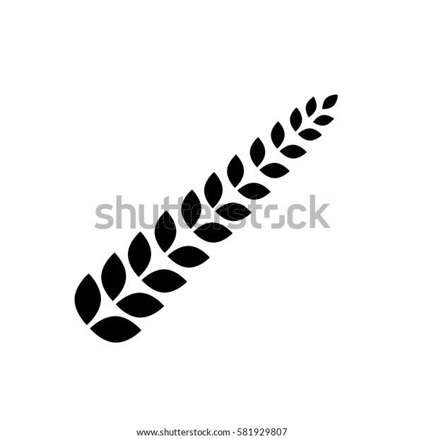 Wheat natural food icon vector illustration graphic design
