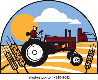 Wheat Tractor