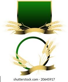 Wheat vector.