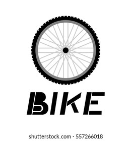 wheel bike illustration