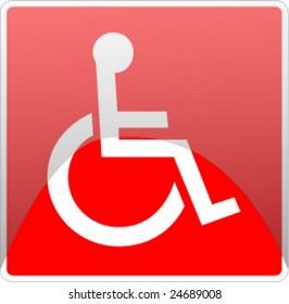 wheel chair signal