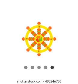 Wheel of Dharma icon