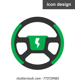 Wheel electric car