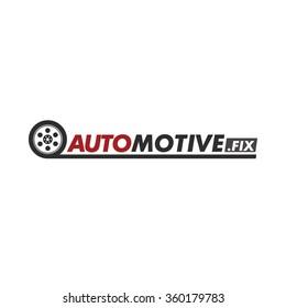 wheel icon. Car automotive Mechanic service and mechanics, design work.