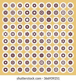 Wheel pictogram