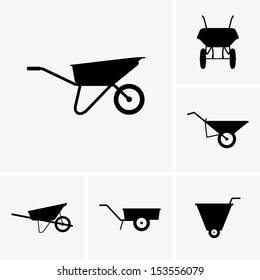 Wheelbarrow carts