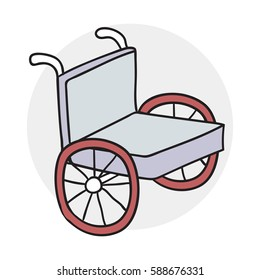 wheelchair icon cartoon