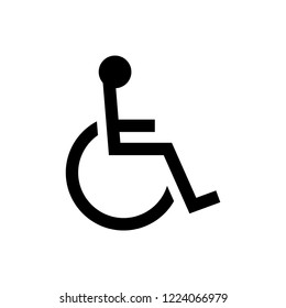 wheelchair,handicapped icon / public information symbol